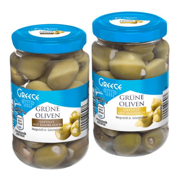 GREECE     Grüne Oliven