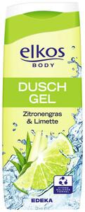 elkos Duschgel Zitronengras & Limette 0,3 ltr