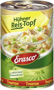 Erasco 1 Portion Hühner-Reistopf mit Hühnerbrühe 400 g