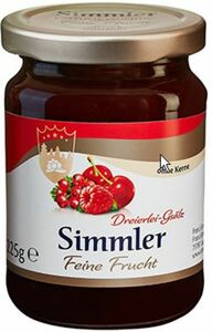 Simmler Fruchtaufstrich Feine Frucht Dreierlei-Gsälz 225 g