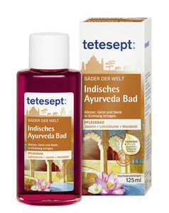 Tetesept Indisches Ayurveda Bad 125 ml