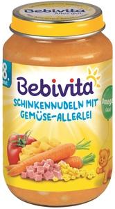Bebivita Schinkennudeln mit Gemüse-Allerlei ab 8. Monat 220 g