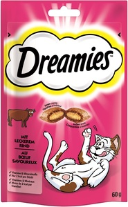 Dreamies Katzensnacks mit Rind 60 g
