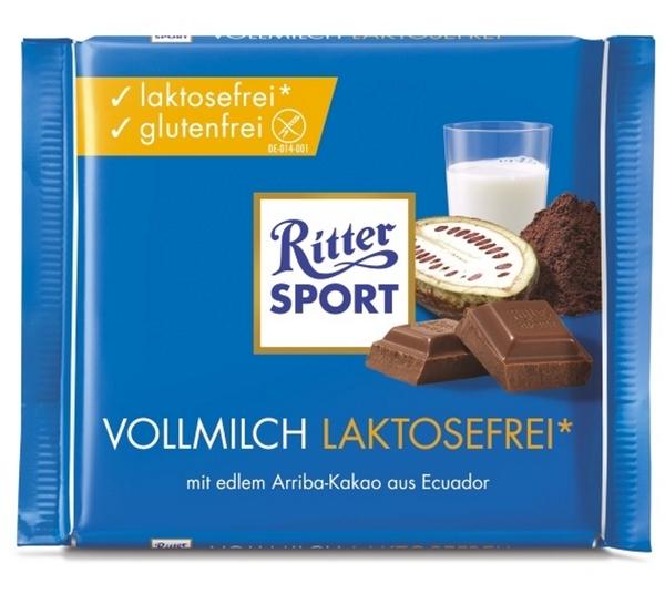 Ritter Sport Vollmilch Laktosefrei 100 g