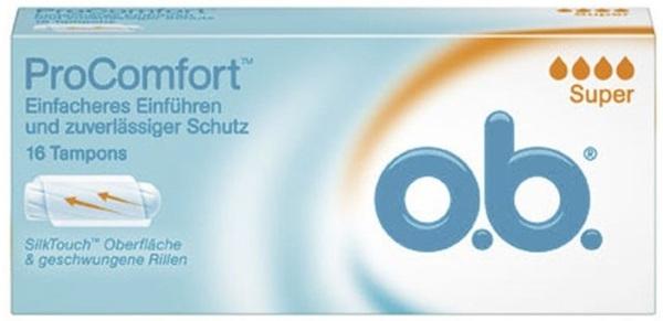 o.b. Pro Comfort Tampons super 16 Stück