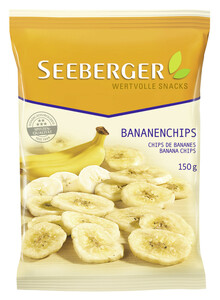 Seeberger Bananenchips 150 g