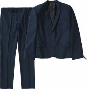 Kinder Anzug Slim Fit blau Gr. 176 Jungen Kinder