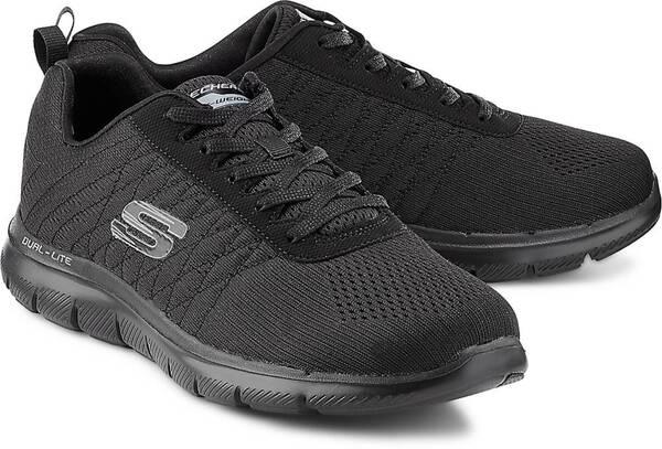 Sport Flex Appeal 2.0 von Skechers in schwarz für Damen. Gr x3Tx2