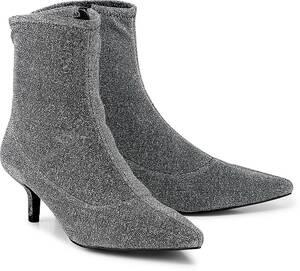 Trend-Stiefelette von Another A in silber für Damen. Gr. 38,39,40