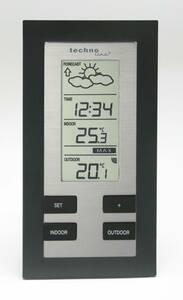 Wetterstation WS 9215-IT alu-schwarz Techno Line