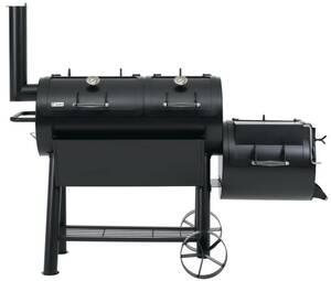 Massiv Smoker Indianapolis - extra schwere Ausführung Tepro