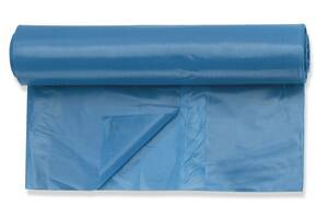 Abfallsäcke, ultra stabil 80my, 25 Stück, 120 Liter, blau