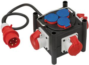Stromverteiler mit TPE-Gehäuse und IP44 Brennenstuhl