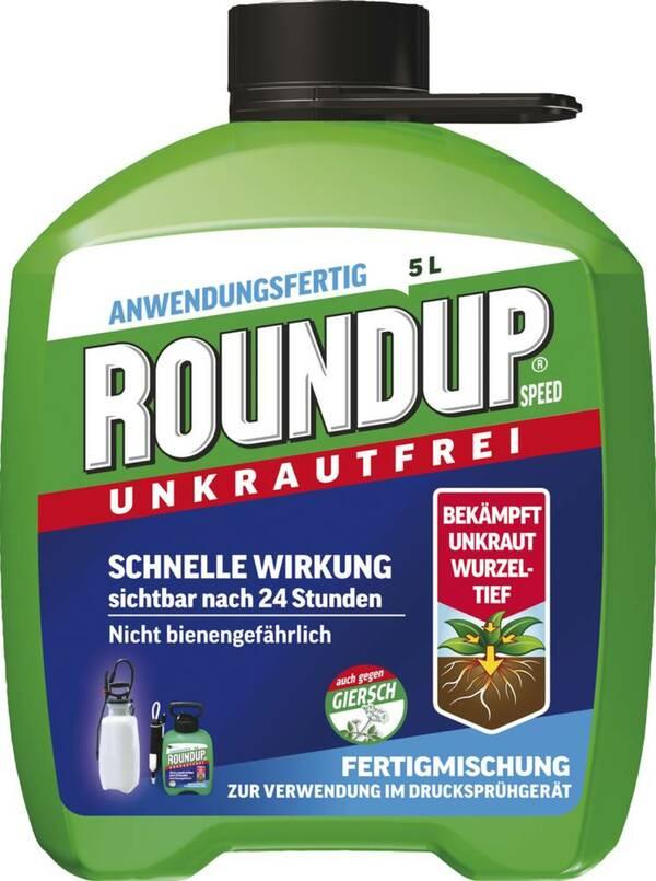 Speed Unkrautfrei Anwendungsfertig 5 l Roundup von ...