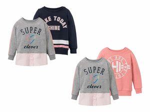 LUPILU® 2 Kleinkinder Mädchen Sweatshirts