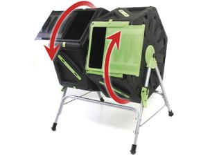 Trommel-Komposter 2 Kammern je 70L UPP