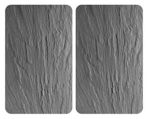 Herdabdeckplatten Schiefer, 2er Set, je 30 x 52 cm Wenko