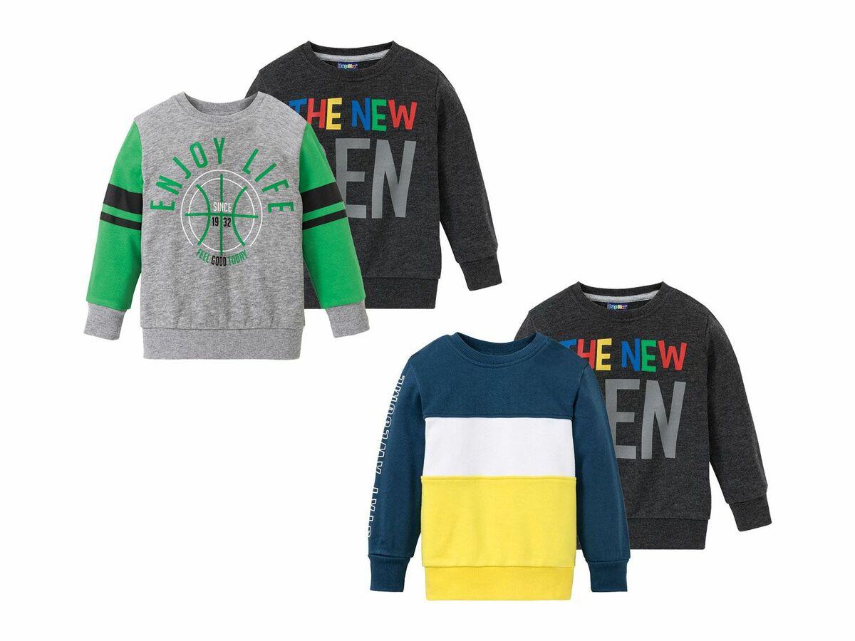Bild 1 von LUPILU® 2 Kleinkinder Jungen Sweatshirts
