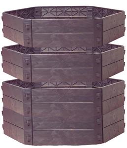 Komposter SK 1050 mit 2 Erweiterungssätze im Spar Set, insges. 1050l Westfalia