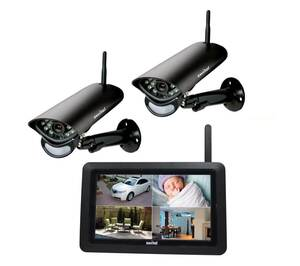 Digitales Funk-Überwachungssystem mit 7Monitor Switel