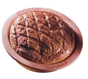 Brotbackform Pane, rund, 31 x 9,5 cm Römertopf