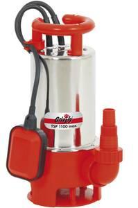 Schmutzwasser Edelstahl Tauchpumpe TSP 1100 Inox Grizzly