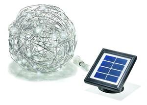 Solar LED Alu Wireball Esotec