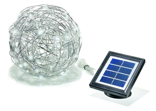 Solar LED Alu Wireball Esotec