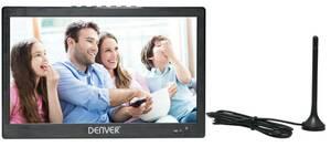 Portabler 10,1 LED-TV mit DVB-T2, schwarz DENVER®