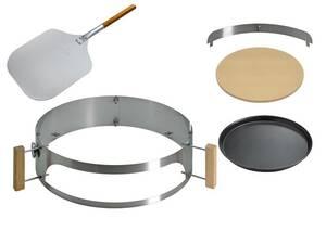Komplettpaket PizzaRing für Kugelgrill - in verschiedenen Größen Moesta