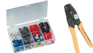 Aderendhülsenzange + Endhülsen Set von 0,5 mm²-16 mm² 450 Stück Wetelux