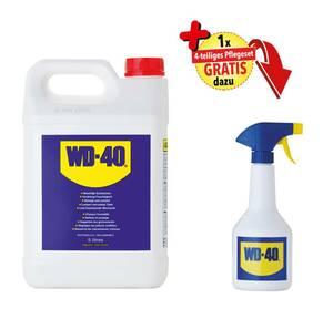 Universalöl Kanister, 5 Liter + gratis Zerstäuber, 600 ml - ohne Inhalt WD-40