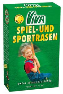 Spiel- und Sportrasen M42 - 2,5 kg Viva