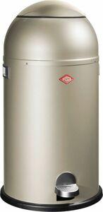 Wesco Liftmaster Abfalleimer - mit Dämpfer 33 Liter, neusilber