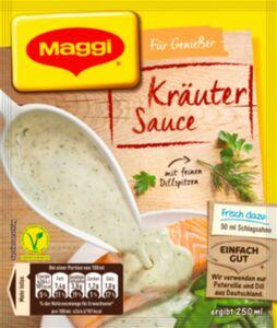 Maggi Für Genießer Kräutersauce mit Dill-Note ergibt 250 ml