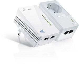 TP-Link TL-WPA4226KIT Powerline Extender Power WLAN weiß
