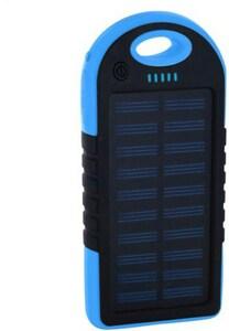 XLayer PLUS Solar (4.000mAh) Powerbank schwarz/blau