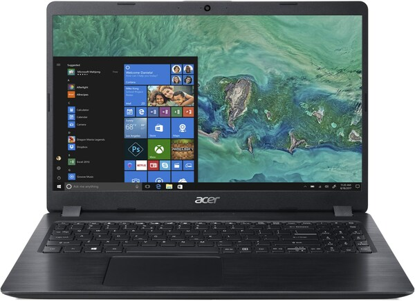 Acer Aspire 5 (A515-52G-530H) 39,6 cm (15,6´´) Notebook schwarz
