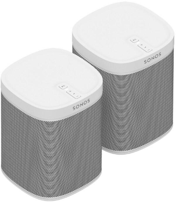 SONOS Play:1 Bundle Multimedia-Lautsprecher weiß von ...