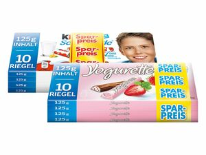 Kinder Schokolade/Yogurette