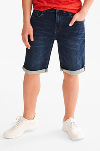 Here and There         THE BERMUDA JEANS - Jog Denim - extra-schlanker Bund