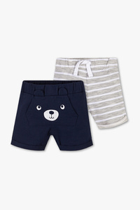 Baby Club         Baby-Shorts - Bio-Baumwolle - 2er Pack