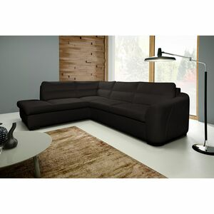 home24 Ecksofa Willowie Echtleder
