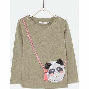 Sfera Mädchen Shirt mit Panda-Applikation
