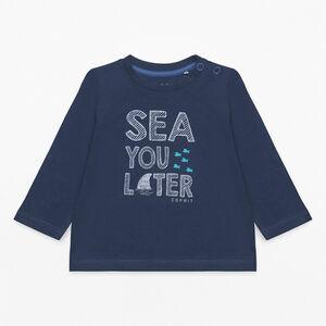 Esprit Baby Langarmshirt mit Slogan