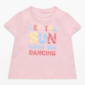 Esprit Baby T-Shirt mit Slogen-Druck