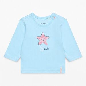 Esprit Baby Langarmshirt mit Meeresmotiv