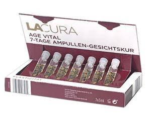 LACURA 7-Tage Ampullen-Gesichtskur