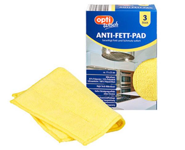 optiWisch 3 Anti-Fett-Pads