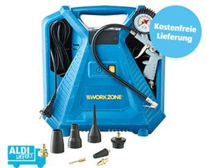 WORKZONE®  Mobiler Kompressor